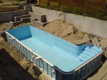 Инструкция по монтажу подземных пластиковых емкостей при высоком уровне грунтовых вод